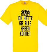 Alle haben können Shirt Gelb