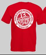 Köln GeburtstagsShirt Rot