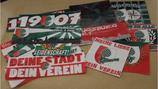 500 Gemischte Augsburg Aufkleber