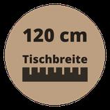 Masstisch BASE 120 cm Breite