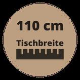 Masstisch BASE 110 cm Breite