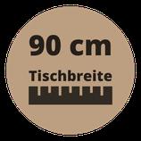 Masstisch BASE 90 cm Breite