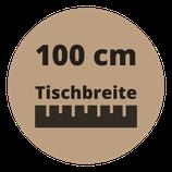 Masstisch BASE 100 cm Breite