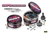 HUDY TIN ROUND BOX - SCATOLINA PORTA MINUTERIA