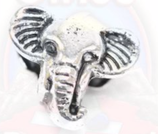 "Tibetsilber Bead ""Elefant"""