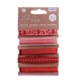 Lili Rose Band-Set Rot