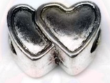 """Tibetsilber Bead """"Heartbeat"""""""