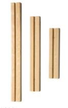 Holzleiste 3tlg.