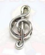 "Tibetsilber Bead ""Music"""