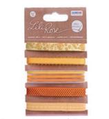 Lili Rose Band-Set orange - gelbtöne