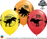 6 Ballons Qualatex Jurassic World