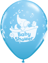 "6 Ballons Qualatex ""Baby Shower"""
