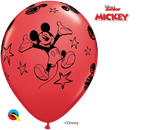 6 Ballons Qualatex Mickey