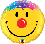 Ballon Alu Qualatex Smiley Face
