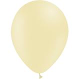 Ballon PASTEL Matte Jaune 28cm
