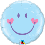 Ballon Alu Qualatex Sweet Smile Face