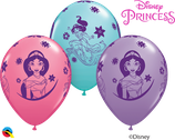 6 Ballons Qualatex Princesse Jasmine