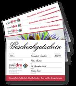 Geschenk-Gutschein CHF 100.00