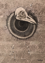 "Postcard ""spiral"""