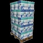 Double A Paper 1 pallet 40 dozen van 2.500 vel A4 - 80 grams