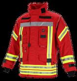 Feuerwehr-Überjacke NTI 112 - Farbe: Rot