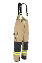 Feuerwehr-Überhose NTI 112 - Farbe: gold