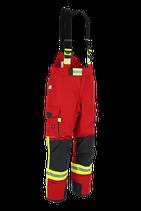 Feuerwehr-Überhose NTI 112 - Farbe: rot