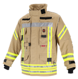 Feuerwehr-Überjacke NTI 112 - Farbe: Gold