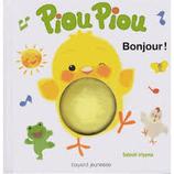 Livre Piou-Piou dit bonjour !