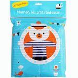 Livre tissu 'Maman les p'tits bateaux'