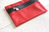 B&P Bag aus Leder HIMBERROT