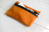 B&P Bag aus Leder ORANGE
