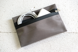B&P Bag aus Leder GRAU