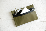 B&P Bag aus Leder KHAKI