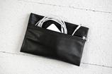 B&P Bag aus Leder SCHWARZ