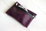 B&P Bag aus Leder LILA