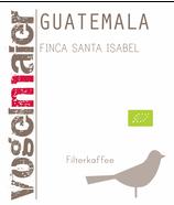 "Guatemala ""Finca Santa Isabel"" Bio - Filter"