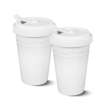 KPM - Form: Kurland - To-go Becher Duo, weiss