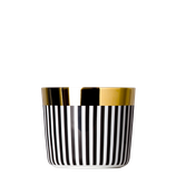 SIEGER by Fürstenberg - Sip of Gold - Becher - Ca´ d´Oro, Vertical Stripes