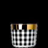 SIEGER by Fürstenberg - Sip of Gold - Becher - Fashion Collection - Vichy