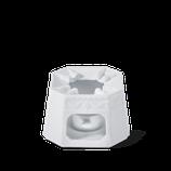 KPM - Form: Kurland - Stövchen mit Pfännchen