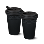 KPM - Form: Kurland - To-go Becher Duo, schwarz