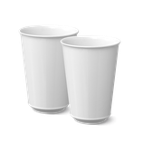 KPM - Form: Urania - Becher Latte Macchiato Duo-Set