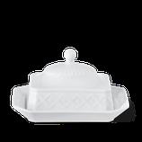 KPM - Form: Kurland - Butterdose mit Deckel
