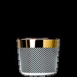 SIEGER by Fürstenberg - Sip of Gold - Becher - Fashion Collection - Herringbone