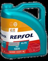 Lubricante Repsol ELITE NEO 5W-20 lata de 4 litros