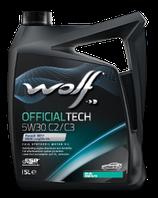ACEITE WOLF OFFICIALTECH 5W30 C2/C3 (Garrafa de 5 litros)
