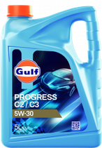 Lubricante sintético Low SAPS ACEA C2/C3 gulf progress 5w30