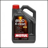 Motul 8100 X-Clean C3 5W40 5L MOTUL (1 garrafa de 5 litros)