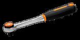 """7750RN Carracas de cabeza redonda reversibles de 3/8"""" con 72dientes y un ángulo de acción de 5º"""